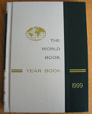 The World Book Year Book Encyclopedia 1999 Review of Events