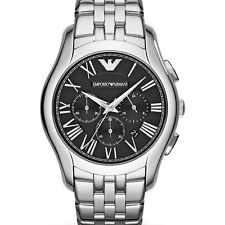 New Emporio Armani AR1786 Chronograph Stainless Steel Designer Watch - UK Seller