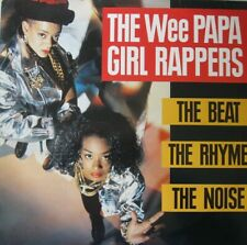 THE WEE PAPA GIRL RAPPERS - THE BEAT THE RHYME THE NOISE  -  LP
