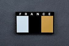 IR France Flag Patch GIGN RAID BRI COS Opération Spéciales Infrared