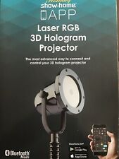 Show Home Holiday App Laser light RGB 3D Hologram Projector