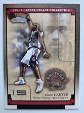 2002-03 Fleer Showcase Vince Carter Legacy Collection - You Pick - Raptors