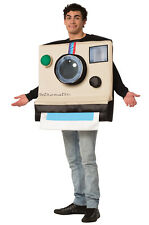 Brand New Instant Camera Polaroid Inspired Funny Adult Costume