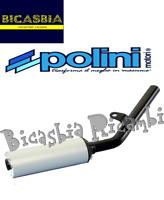 9632 - SILENZIATORE MARMITTA POLINI VESPA 50 125 PK S XL N V RUSH FL FL2 HP