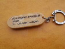 Porte Clés Publicitaire Boulangerie Patisserie GENOT LES MONTHAIRONS ( meuse)