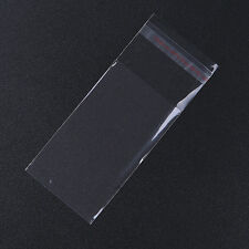 Free P&P 500 Plastic Adhesive Seal Bags 5x12cm 120345