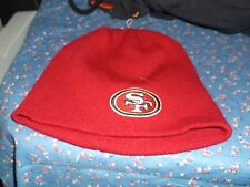ksm. San Francisco 49ers Skullcap One Size Fits All  Appears Unused 100% Acrylic