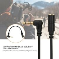 3.5mm Headphone Connector Earphone Adapter TRS to TRRS Converter Cable