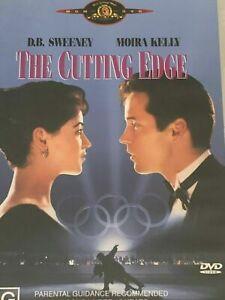 The Cutting Edge DVD Moira Kelly Ice Figure Skating Movie - RARE REGION 4 PAL