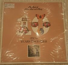 The Best of Peter, Paul & Mary Vinyl LP 10 Years Together NM!!!  BSK 3105