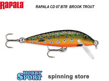 RAPALA  COUNTDOWN CD 07 SINKING col BTR BROOK TROUT