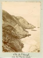Algérie, Annaba (ses environs), côte de l'Edough, vue du cap de Garde  Vint