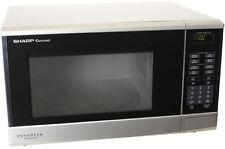 Sharp 1200w Midsize Inverter Sensor Countertop Microwave Oven Silver R350YS