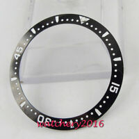 Free Shipping Black Watch ceramic Bezel Ring Insert parnis 40mm automatic Watch