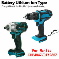 18V 1/2'' 520Nm Impact Wrench Brushless Drill For Makita Battery DHP484Z/DTW285Z