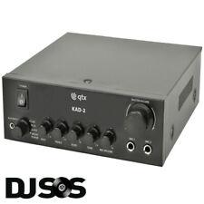 QTX KAD-2 Digital Stereo Amplifier Microphone Input PA DJ Karaoke
