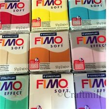 FIMO SOFT & EFFECTS Polymer Clay 8 pcs 448gm PICK COLRS