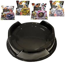 Ultimate Beystadium Set 4 Beyblades w/ Launcher + Black Stadium Bey Stadium USA