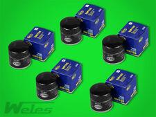 5 x SM105 Ölfilter OPEL ASTRA F 1,4 1,6 1,8 2,0 1,7 TD / G / H 1,6 1,8  Benzin