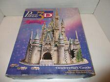 Milton Bradley Wrebbit Puzz3D Walt Disney Cinderella's Castle Puzzle