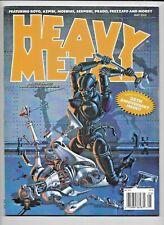 Heavy Metal 2012 Vol 36 #2 May 35th Anniversary Nicollet Royo FN/VF 1977 Series