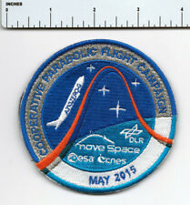 "ESA CNES DLR NOVESPACE Parabolic Flight Mission Patch 3.5"" New"