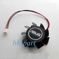VGA Video Card Fan Replacement 37mm 2Pin T124010DL for ASUS ATI NVIDIA 12V 0.1A