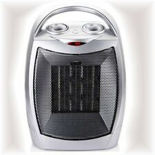 Portable Electric Fan Space Heater 1500W Ceramic Med Room Thermostat Home Dorm