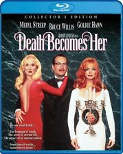 DEATH BECOMES HER  (1992 Meryl Streep) -   Region A -   BLU RAY - Sealed