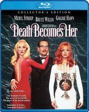 DEATH BECOMES HER  (1992 Meryl Streep) -   Region A -   BLU RAY - Sealed