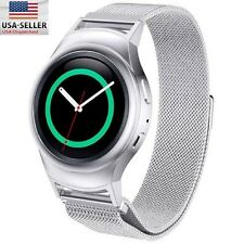 Milanese Stainless Steel Watch Band Strap + Connector For Samsung Gear S2 RM-720