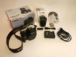 Canon Eos 450 D + objetivo EF 50mm 1.8 + Mando distancia