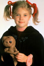 Drew Barrymore Holding E.T. Doll Smiling 11x17 Mini Poster