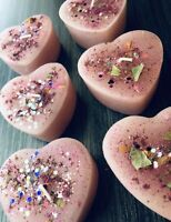 Healing a Broken Spell Candle Heart-Shaped, Handmade, Organic, Witchcraft, Wicca