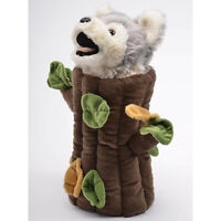 Unipack In N Out Hand Puppet Wolf 13 Inch Animal Plush NEW IN STOCK Plushies