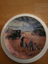 "The Danbury Mint ""Farming The Heartland"" Series ""Bountiful Harvest"" Plate"