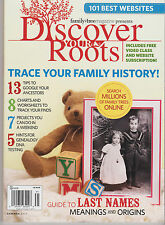 Discover your Roots Magazine Summer 2013, 101 BEST WEBSITES.