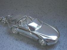 Schlüsselanhänger Honda S2000 versilbert (5180)