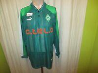 "Werder Bremen Original Puma Langarm Trikot 1998/99 ""o.tel.o"" + Nr.10 Gr.L TOP"