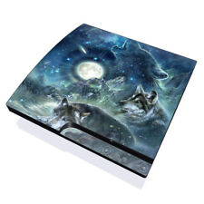 Sony PS3 Slim Console Skin - Bark At The Moon - DecalGirl Decal