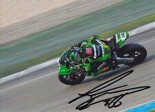Tom Sykes Hand Signed 7x5 Photo - WSBK Autograph.
