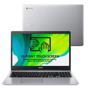 "Acer Chromebook CB315-3HT 15.6"" FHD Laptop, Silver N5000 4GB 64GB NX.HKCEK.002"
