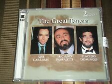 THE GREAT TENORS<>PAVAROTTI,CARRERAS<>CanadaDOUBLE Brand New CDs ~RETRO BXS98192