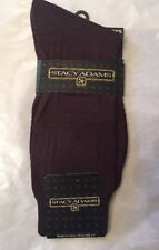 A Lot Of 5 Pairs MENS Dress Socks Stacy Adams Size Brown Shoe Sz 3-9 Brown New