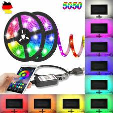 2M RGB LED Backlight TV Hintergrund Beleuchtung USB Lichtstripe PC Band Streifen