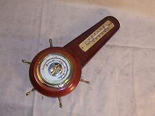 Vintage Barometer & Thermometer Combination Made in Germany