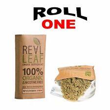 REALLEAF Herbal Smoking Mixture 100% Tobacco Free Real Leaf