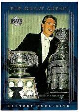 WAYNE GRETZKY 1999-00 Upper Deck Gretzky Exclusive - card # 51 (ex-mt)