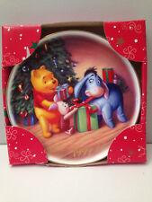 Disney Christmas Celebration 1999 Pooh Piglet Eeyore Plate