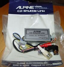 /Alpine Cd Shuttle Link Cd Changer Direct Connect 4 Early Acura to Eq 4702Aa